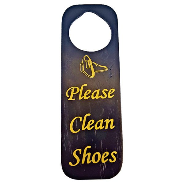 SHOE DOOR TAG