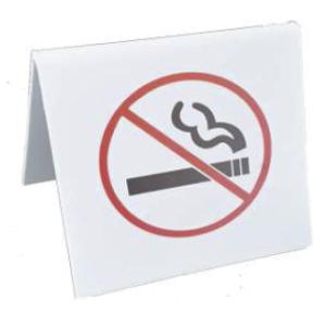 NO SMOKING SIGNS, PLASTIC