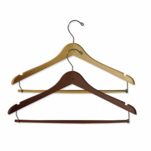 STANDARD HANGER, NATURAL MALE SILVER