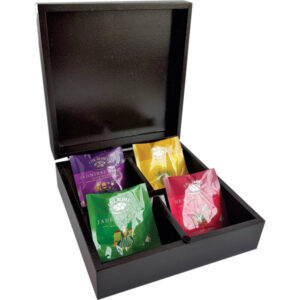 5 ROSES INFUSION TEA BOX – 4 COMPARTMENTS