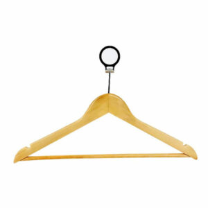 ANTI THEFT HANGER, NATURAL MALE SILVER