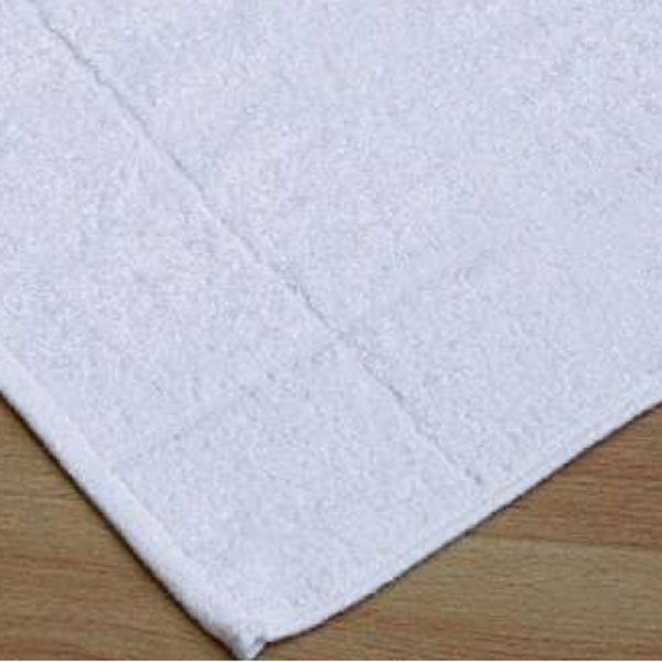 BATH MAT, WHITE
