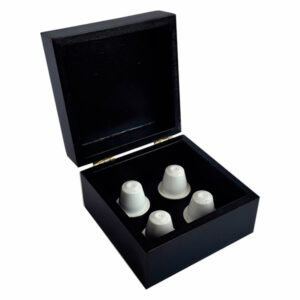 COFFEE CAPSULE HOLDER, 4 COMPARTMENTS