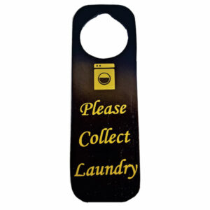 LAUNDRY DOOR TAG