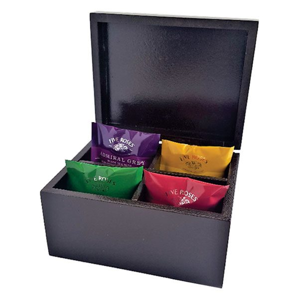 TEA BOX, SQUARE