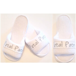 Embroidered Wedding Slippers Kids