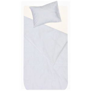 BAB001 - Baby Cot Linen White