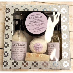 LEPP001 - Lavender Extract Pamper Pack Gift Set