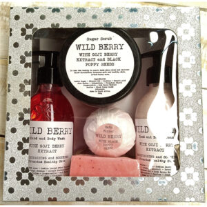 WBEPP001 - Wild Berry Extract Pamper Pack Gift Set
